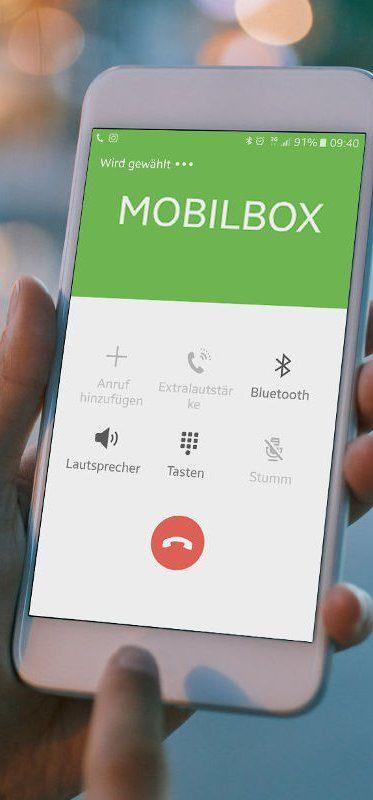 Personalisierte Mobilboxen