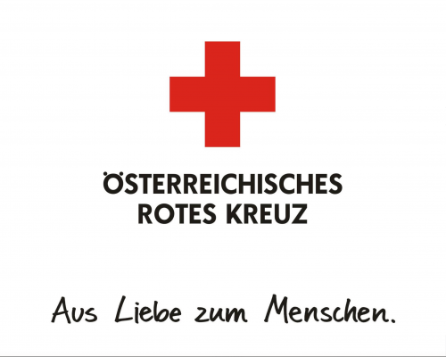 Rotes Kreuz Logo Screen